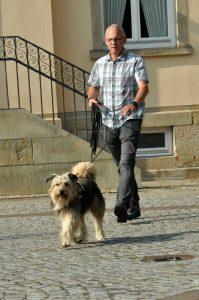 Volker Holtmann mit Tiffy
